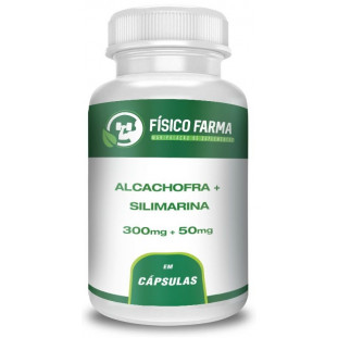Alcachofra 300mg + Silimarina 50mg
