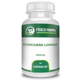 Cúrcuma Longa(95% curcuminoides - Curcumina) 500mg
