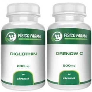 Kit Drenow C 500mg 60 cápsulas + Diglothin 200mg 60 cápsulas