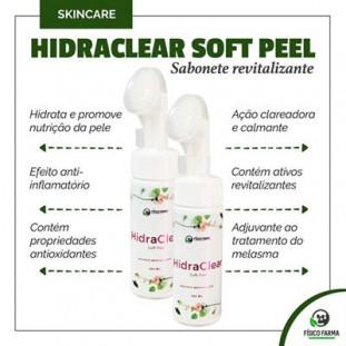 Hidraclear Soft Peel - Sabonete Facial 100ml