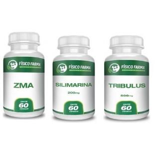 Kit Tpc (silimarina + Tribullus + Zma)