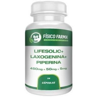 Lifesolic 450mg + Laxogenina 50mg + Piperina 5mg