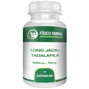 Long Jack 600mg + Tadalafila 10mg
