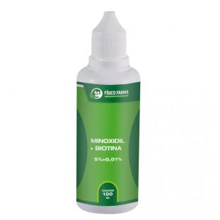 Minoxidil 5% + Biotina 100ml