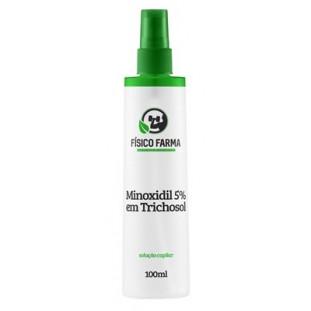Minoxidil 5% em TrichoSol 100ml Spray