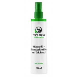 Minoxidil + Finasterida Like (Sfíngoni) em TrichoSol 100ml Spray