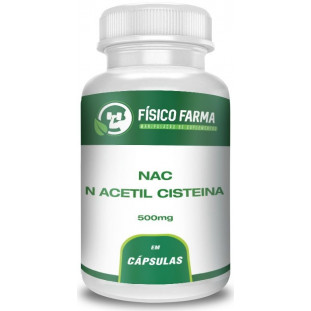 N Acetil Cisteina (NAC) 500mg