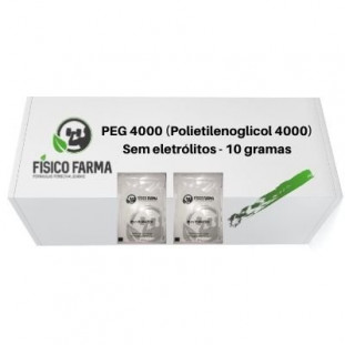 PEG 4000 (Polietilenoglicol 4000) Sachês 10g