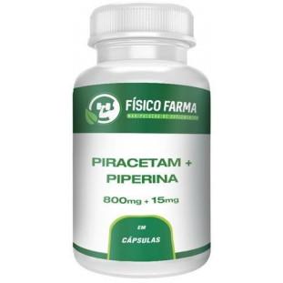 Piracetam 800mg + Piperina 15mg