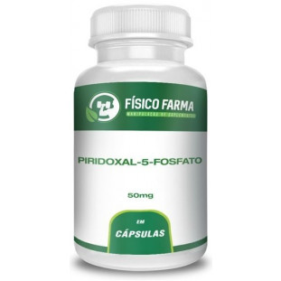 Piridoxal-5-Fosfato - Forma Ativa da Vitamina B6 50mg