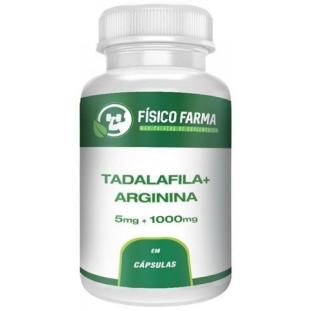 Tadalafila 5mg + Arginina 1000mg
