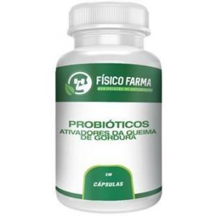 Probióticos ativadores da queima de gordura