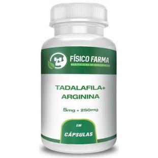 Tadalafila 5mg + Arginina 250mg