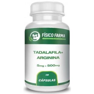 Tadalafila 5mg + Arginina 500mg