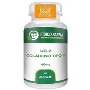UC-II 40 mg - Colágeno Tipo 2 Não desnaturado 40mg