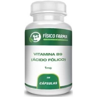 Vitamina B9 - Ácido Fólico 1mg