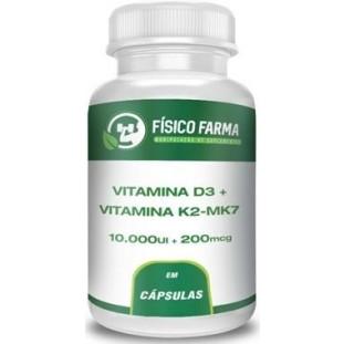 Vitamina d3 10.000ui + Vitamina k2 200mcg